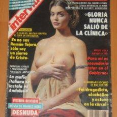 Coleccionismo de Revista Interviú: INTERVIU #877 1993 VITTORIA BELVEDERE NUDE FRANCO NERO ROCIO JURADO MAGAZINE REVISTA. Lote 207003227