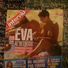 Coleccionismo de Revista Interviú: INTERVIU N 1319 - AGOSTO 2001. Lote 207427196