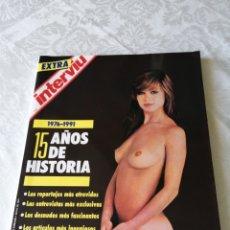 Coleccionismo de Revista Interviú: INTERVIU. 1976-1991. 15 AÑOS DE HISTORIA. PORTADA DE MARISOL.. Lote 207970341