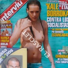Coleccionismo de Revista Interviú: ANTIGUA REVISTA INTERVIU - Nº 1527 - AÑO 2005. Lote 208080580