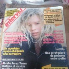 Coleccionismo de Revista Interviú: INTERVIU N 722 - KIM BASINGER - MARZO 1990. Lote 209152038