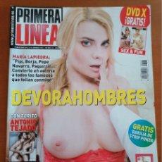 Coleccionismo de Revista Interviú: PRIMERA LINEA Nº 306 * OCTUBRE 2010 * MARIA LAPIEDRA*ANTONIO TEJADO*EVA MENDES*CHICAS AUSTRALIANAS. Lote 210488586
