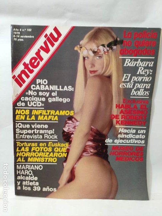 REVISTA INTERVIU NUM 182 ILONA STALLER CICCIOLINA BARBARA REY (Coleccionismo - Revistas y Periódicos Modernos (a partir de 1.940) - Revista Interviú)