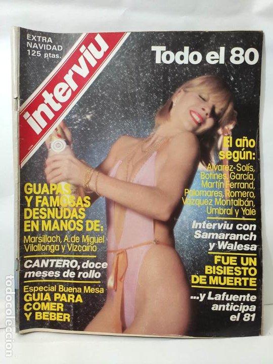 REV.INTERVIU AÑO 1980 ( EXTRA NAVIDAD, TODO EL 80 ) (Coleccionismo - Revistas y Periódicos Modernos (a partir de 1.940) - Revista Interviú)