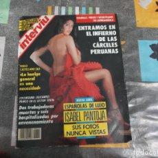 Colecionismo da Revista Interviú: INTERVIU Nº 839, ISABEL PANTOJA, REGINA DO SANTOS, CARLOS CANO, CARMEN DEL SOL DESNUDA,. Lote 212351230