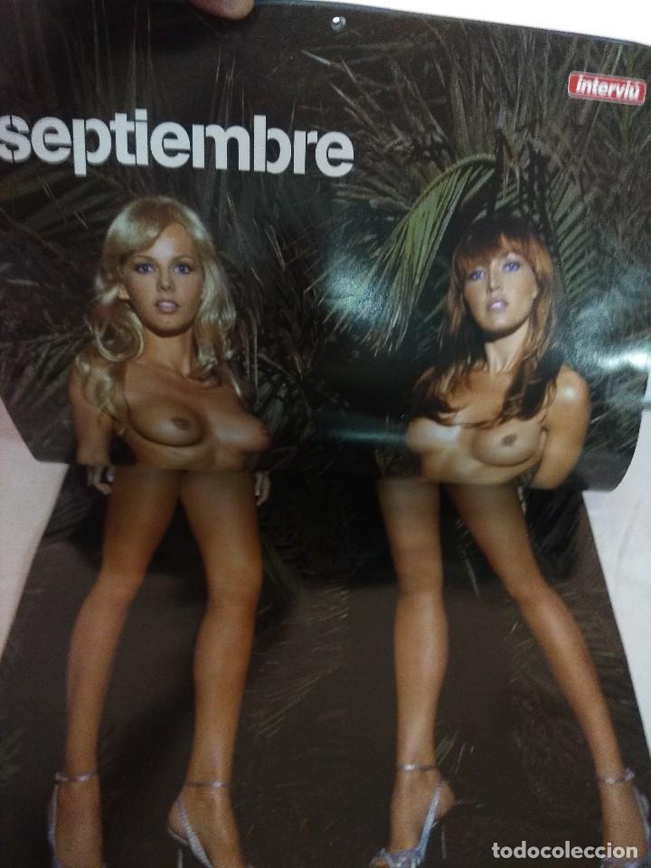 Coleccionismo de Revista Interviú: REVISTA INTERVIU/ARANCHA BONETE Y SILVIA FOMINAYA 2006 CON CALENDARIO/MBE¡¡¡¡¡¡¡. - Foto 5 - 222000842