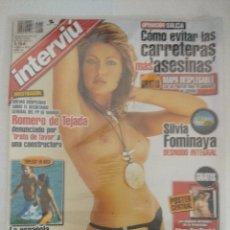 Coleccionismo de Revista Interviú: REVISTA INTERVIU/SILVIA FOMINAYA/PRECINTADA¡¡¡¡¡¡¡¡¡¡¡.. Lote 222001026