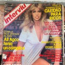 Coleccionismo de Revista Interviú: REVISTA INTERVIÚ - AÑO 1981 - 25 NOVIEMBRE/1 DICIEMBRE - Nº289. Lote 213560013