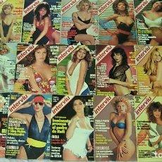Coleccionismo de Revista Interviú: LOTE 43 REVISTAS INTERVIU AÑOS 1984-1994 BIBI ANDERSEN CLAUDIA SCHIFFER ANA OBREGON. Lote 213614386