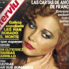 Coleccionismo de Revista Interviú: REVISTA INTERVIU Nº 79, BLANCA ESTRADA. Lote 213759492