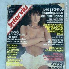 Coleccionismo de Revista Interviú: REVISTA INTERVIÚ - AÑO 1980 - 11/17 SEPTIEMBRE - Nº226. Lote 214169447