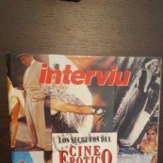 Collectionnisme de Magazine Interviú: LIBRO - LOS SECRETOS DEL CINE EROTICO - INTERVIU - POR LUIS GASCA. Lote 214275250