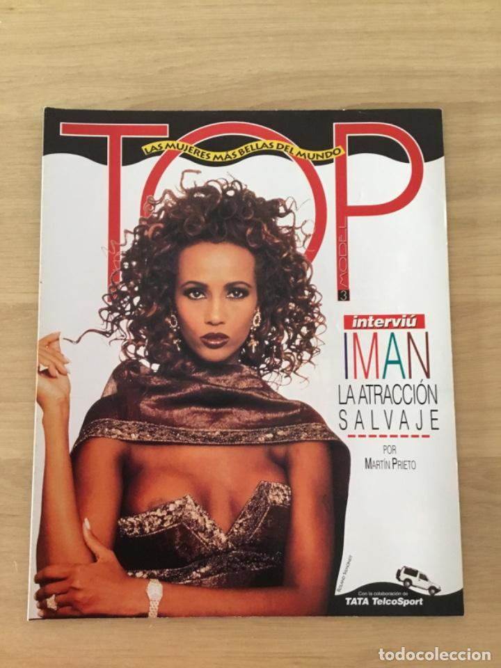 INTERVIU ESPECIAL TOP LAS MUJERES MÁS BELLAS DEL MUNDO IMAN (Coleccionismo - Revistas y Periódicos Modernos (a partir de 1.940) - Revista Interviú)