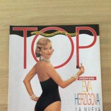 Coleccionismo de Revista Interviú: INTERVIU ESPECIAL TOP LAS MUJERES MÁS BELLAS DEL MUNDO EVA HERZIGOVA. Lote 216012573
