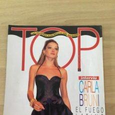 Coleccionismo de Revista Interviú: INTERVIU ESPECIAL TOP LAS MUJERES MÁS BELLAS DEL MUNDO CARLA BRUNI. Lote 216012872