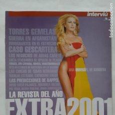 """Coleccionismo de Revista Interviú: EJEMPLAR SUPLEMENTO REVISTA INTERVIU """" LO MEJOR DEL 2001"""". Lote 216500000"""