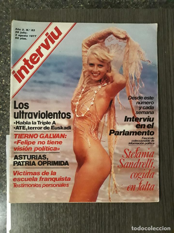Coleccionismo de Revista Interviú: Lote de 17 revistas interviú del año 2 - Año 1977 - Foto 3 - 216551638