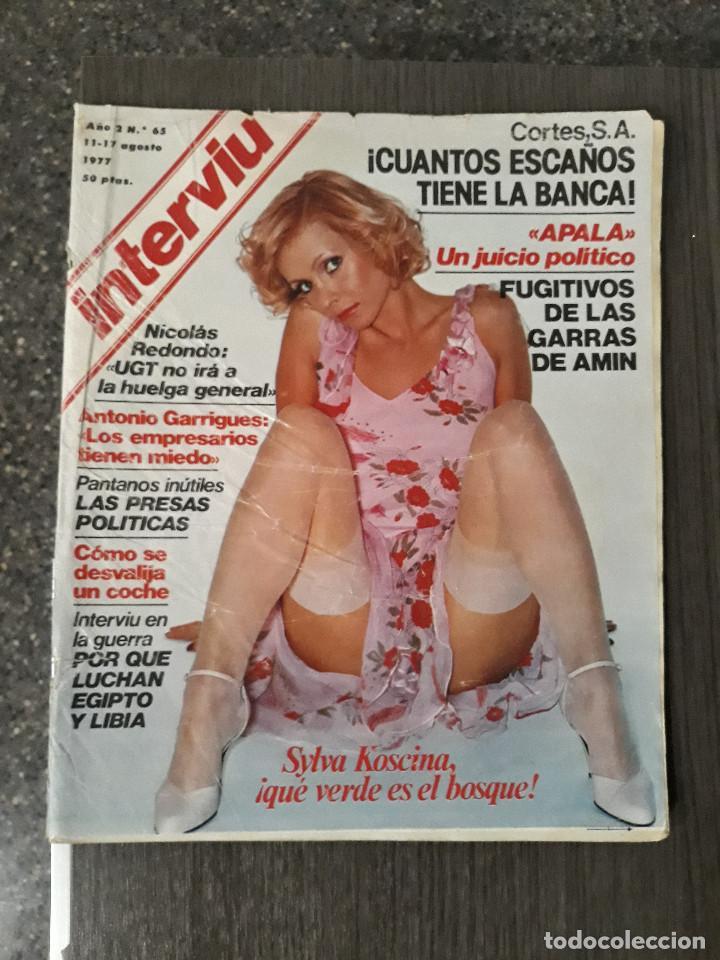 Coleccionismo de Revista Interviú: Lote de 17 revistas interviú del año 2 - Año 1977 - Foto 5 - 216551638