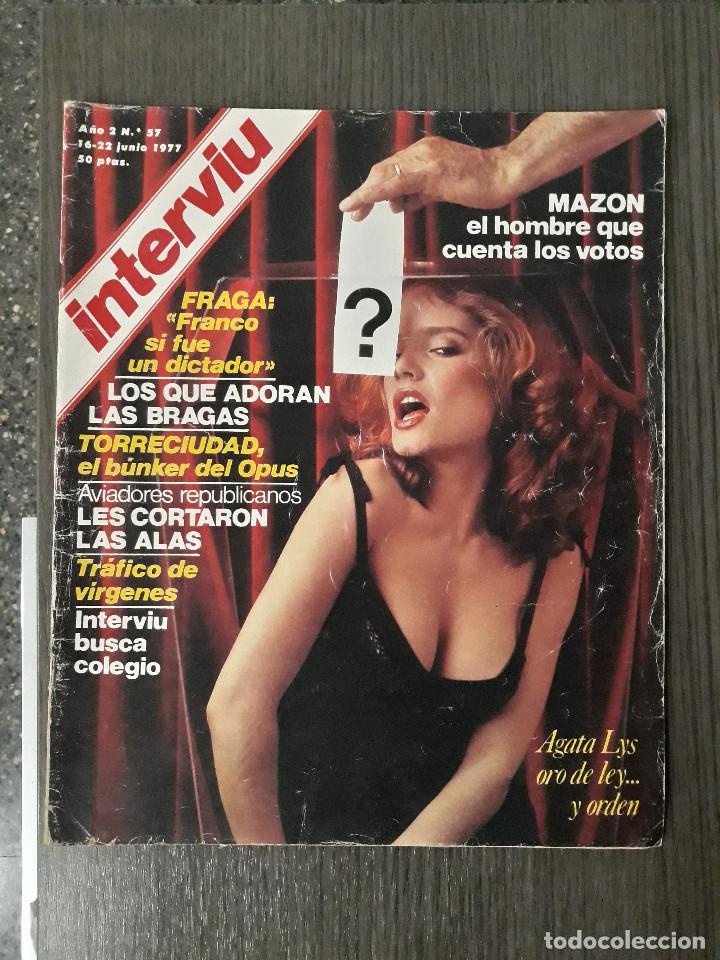 Coleccionismo de Revista Interviú: Lote de 17 revistas interviú del año 2 - Año 1977 - Foto 8 - 216551638