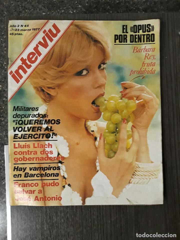 Coleccionismo de Revista Interviú: Lote de 17 revistas interviú del año 2 - Año 1977 - Foto 14 - 216551638