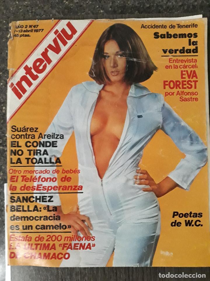 Coleccionismo de Revista Interviú: Lote de 17 revistas interviú del año 2 - Año 1977 - Foto 15 - 216551638