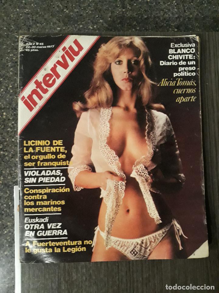 Coleccionismo de Revista Interviú: Lote de 17 revistas interviú del año 2 - Año 1977 - Foto 16 - 216551638