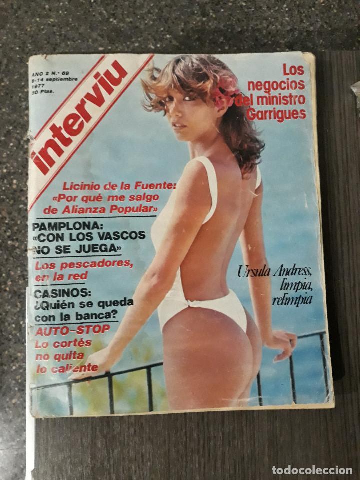 Coleccionismo de Revista Interviú: Lote de 17 revistas interviú del año 2 - Año 1977 - Foto 18 - 216551638