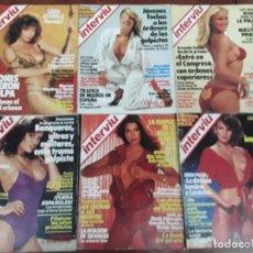 Collezionismo di Rivista Interviú: LOTE 29 REVISTAS INTERVIU AÑOS 1983-1984- 1985 PAQUIRRI,ANA OBREGON ,AMANDA LEAR,MARISA MEDINA. Lote 218241940