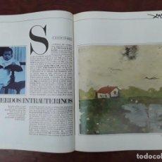 Coleccionismo de Revista Interviú: DALI BUÑUEL CADAQUES FEDERICO LORCA ANA MARIA DALI REVISTA AÑO 1984. Lote 218244037