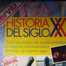 Coleccionismo de Revista Interviú: INTERVIU. HISTORIA DEL SIGLO XX. PATROCINADO POR PHILIPS.10 MAYO 1993 + 6 VÍDEOS VHS. Lote 218536098