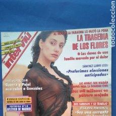 Coleccionismo de Revista Interviú: INTERVIU 1997 LA TRAGEDIA DE LOS FLORES , OLGA VISA , CONCENTRACIÓN MOTERAS ,DÍAZ EL CORDOBÉS ,. Lote 218579325