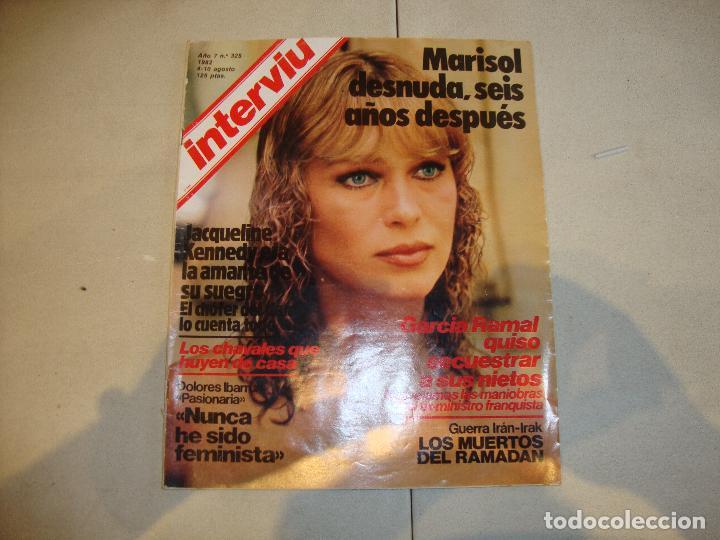 MARISOL REVISTA INTERVIU (Coleccionismo - Revistas y Periódicos Modernos (a partir de 1.940) - Revista Interviú)