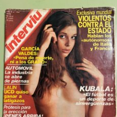 Coleccionismo de Revista Interviú: REVISTA INTERVIU Nº 154 ABRIL 1979 - OLIVIA PASCAL. Lote 222943576