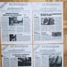 Coleccionismo de Revista Interviú: 4 SUPLEMENTOS REVISTA INTERVIU. EL BOSQUE ANIMADO. EUSKADI. GUTIERREZ MELLADO. UCD. ESPAÑA 82. Lote 223200345