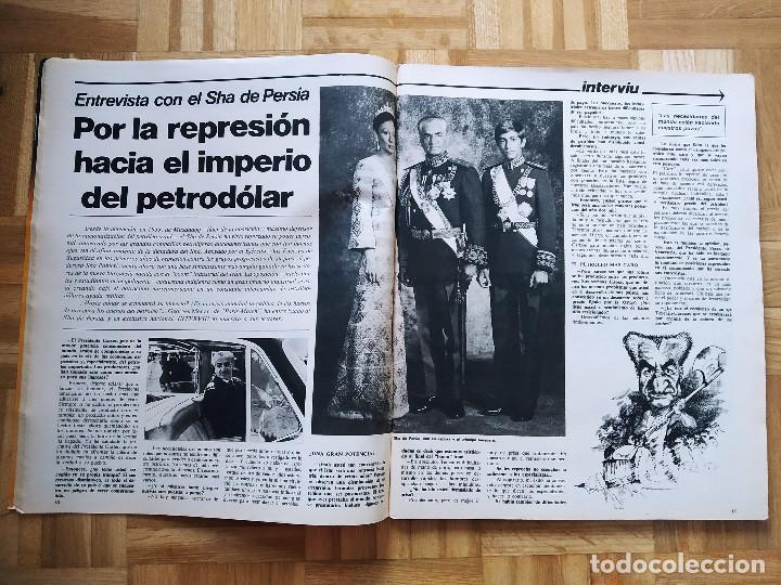 Coleccionismo de Revista Interviú: REVISTA INTERVIU EXTRA VERANO 1977. NADIA MORALES. PRIMER ANIVERSARIO. SHA PERSIA. PINOCHET. CHICAS - Foto 3 - 223209548