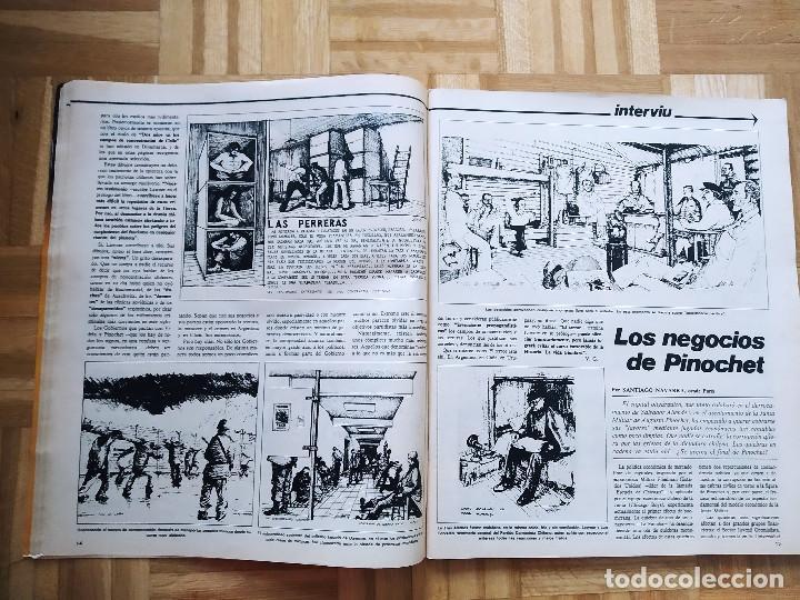 Coleccionismo de Revista Interviú: REVISTA INTERVIU EXTRA VERANO 1977. NADIA MORALES. PRIMER ANIVERSARIO. SHA PERSIA. PINOCHET. CHICAS - Foto 4 - 223209548