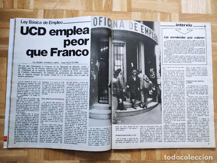 Coleccionismo de Revista Interviú: REVISTA INTERVIU 218. BRIGITTE BARDOT. MIGUEL BOSE. UCD. FRANCO. EUSKADI. URSS. VIETNAM - Foto 5 - 227155130