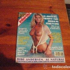 Coleccionismo de Revista Interviú: INTERVIU 1994 / BIBI ANDERSEN AL NATURAL / DESNUDOS. Lote 227593075