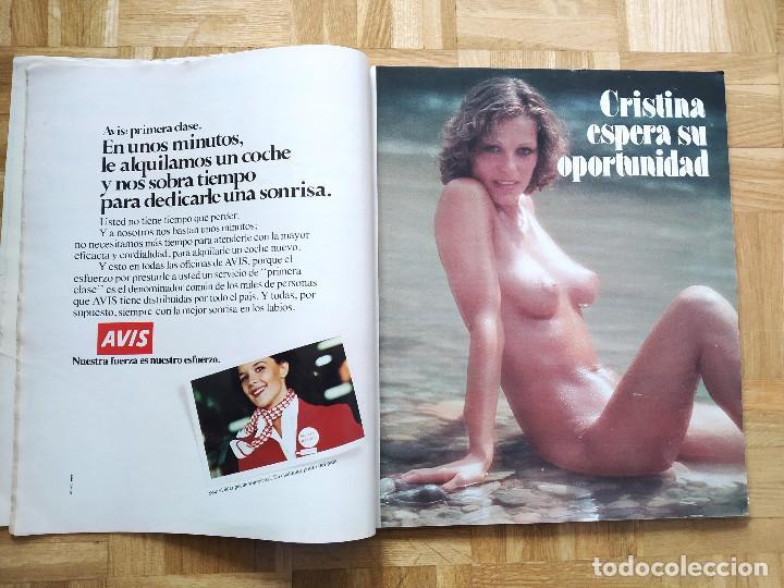 Coleccionismo de Revista Interviú: REVISTA INTERVIU E. NAVIDAD 1978. NADIUSKA. MARIA SALERNO. AMPARO MUÑOZ. SILVIA TORTOSA. NORMA DUVAL - Foto 2 - 227672675