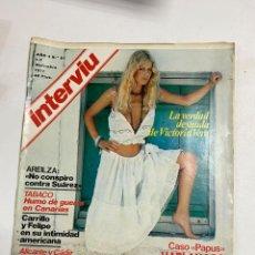 Coleccionismo de Revista Interviú: INTERVIU. AÑO 2. Nº 81. DICIEMBRE 1977. CASO PAPUS: HABLAN LOS FASCISTAS PRESOS. VER FOTOS. Lote 228251277