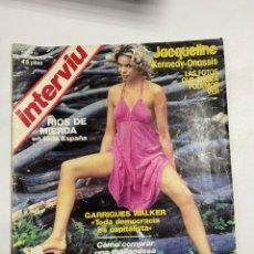 Coleccionismo de Revista Interviú: INTERVIU. AÑO 1. Nº 23. OCTUBRE 1976. JACQUELINE KENNEDY-ONASSIS. VER FOTOS.. Lote 228252020