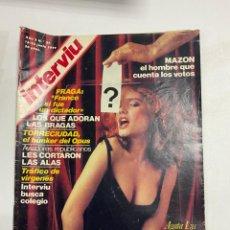 Coleccionismo de Revista Interviú: INTERVIÚ. AÑO 2. Nº 57. JUNIO 1977. MAZON EL HOMBRE QUE CUENTA LOS VOTOS. VER FOTOS. Lote 228252260