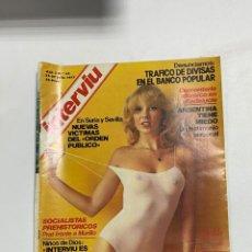 Coleccionismo de Revista Interviú: INTERVIU. AÑO 2. Nº 62. JULIO 1977. TRAFICO DE DIVISAS EN EL BANCO POPULAR. VER FOTOS. Lote 228253025