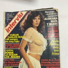 Coleccionismo de Revista Interviú: INTERVIU. AÑO 2. Nº 76. OCTUBRE-NOVIEMBRE 1977. VUELVE CARLOS HUGO: MI SANGRE ES MUY ROJA. VER FOTOS. Lote 228253500