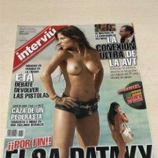 Coleccionismo de Revista Interviú: REVISTA INTERVIU Nº1612 DEL 19 AL 25 MARZO 2007 ELSA PATAKY. Lote 232771980