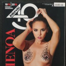 Coleccionismo de Revista Interviú: REVISTA INTERVIU Nº 2092 (ESPECIAL 40 ANIVERSARIO 1976-2016) - PORTADA DE CHENOA (GRUPO ZETA 2016). Lote 232780875