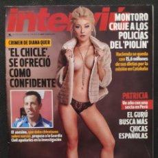 Coleccionismo de Revista Interviú: REVISTA INTERVIU Nº 2176 (ULTIMA EDICION CON NUMERACION) - PORTADA MAY MARKOVA (GRUPO Z 2018). Lote 232781760