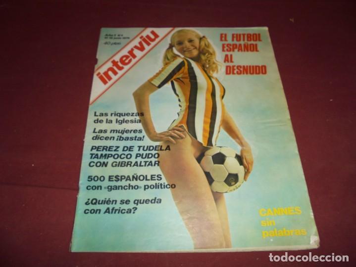 Coleccionismo de Revista Interviú: mangnificas 37 revistas de interviu primeros numeros - Foto 4 - 234664500