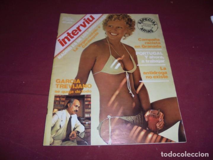 Coleccionismo de Revista Interviú: mangnificas 37 revistas de interviu primeros numeros - Foto 5 - 234664500