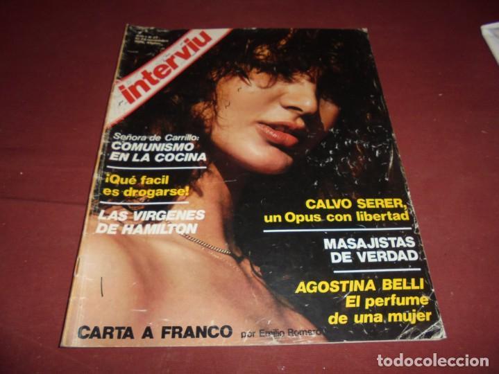 Coleccionismo de Revista Interviú: mangnificas 37 revistas de interviu primeros numeros - Foto 6 - 234664500